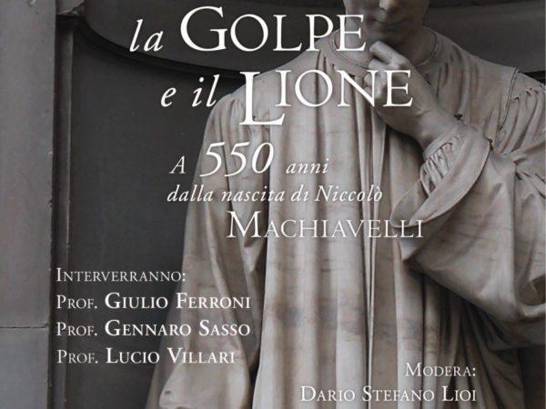 550 anni nascita Machiavelli